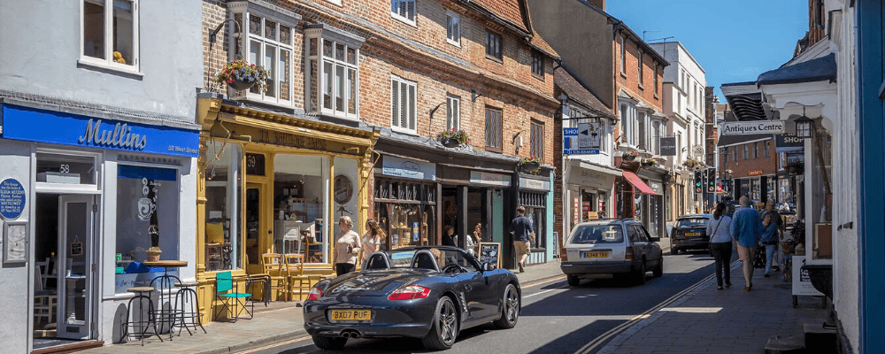 Dorking Shops