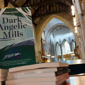 Photo of 'Dark Angelic Mills' taken in Bradford Cathedral.